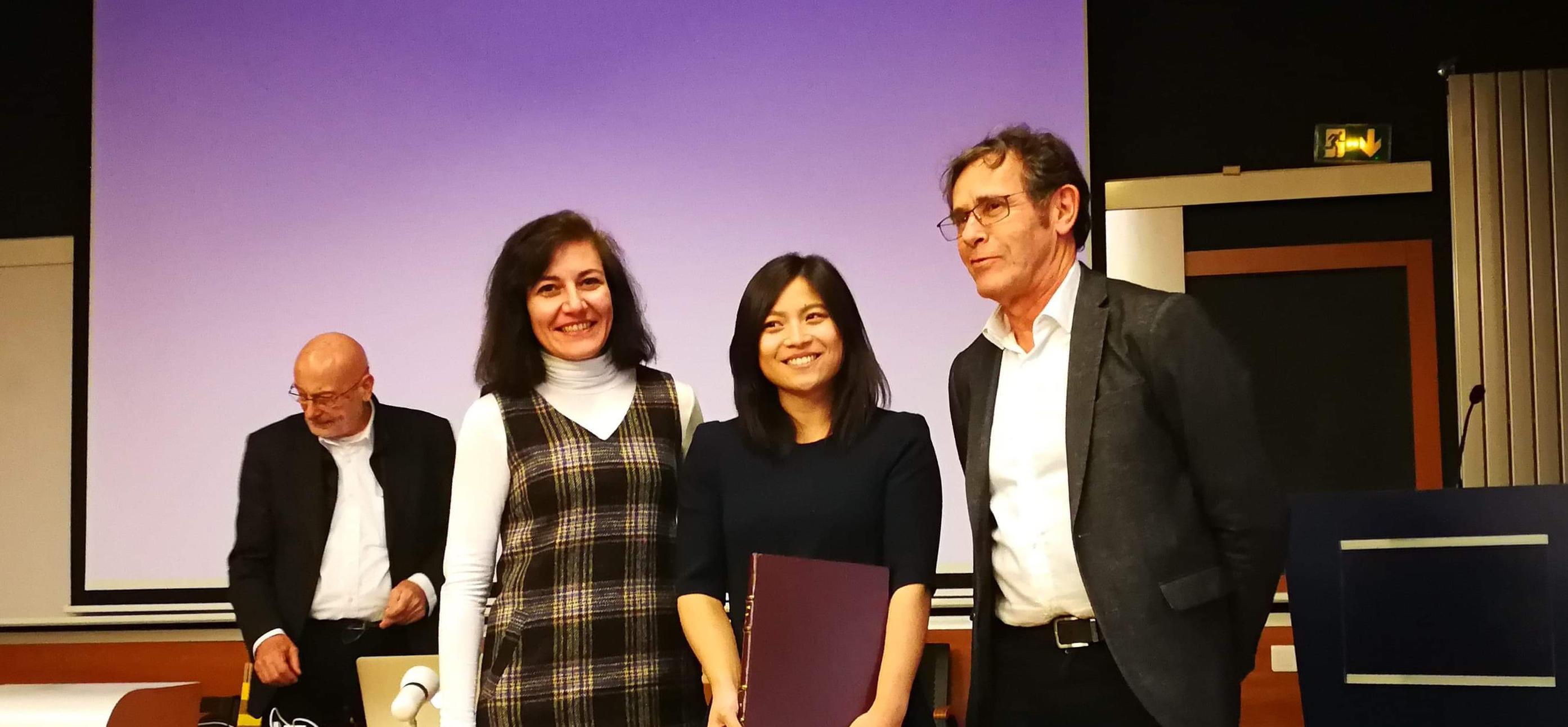 Cérémonie du Prix de thèse 2018 de la Fondation Nanosciences