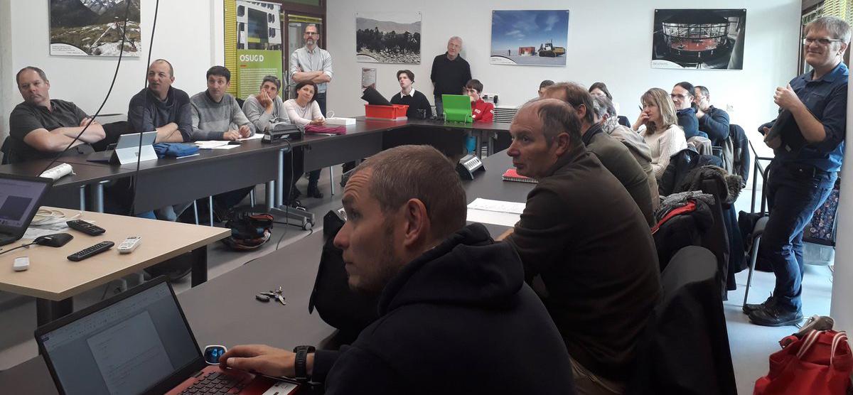 Formation au Newspace organisée par la MPLS avec le CSUG