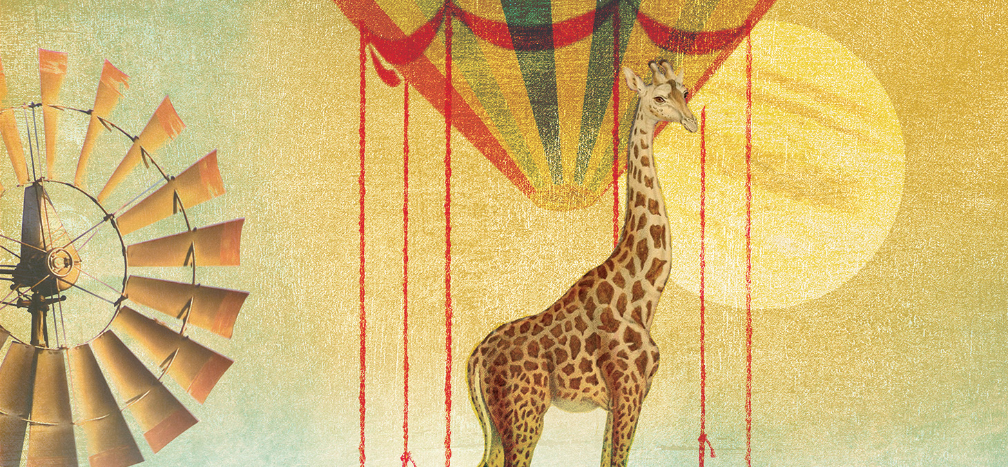 campagne marque UGA _ girafe