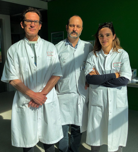 Équipe étude biomarqueurs COVID-19