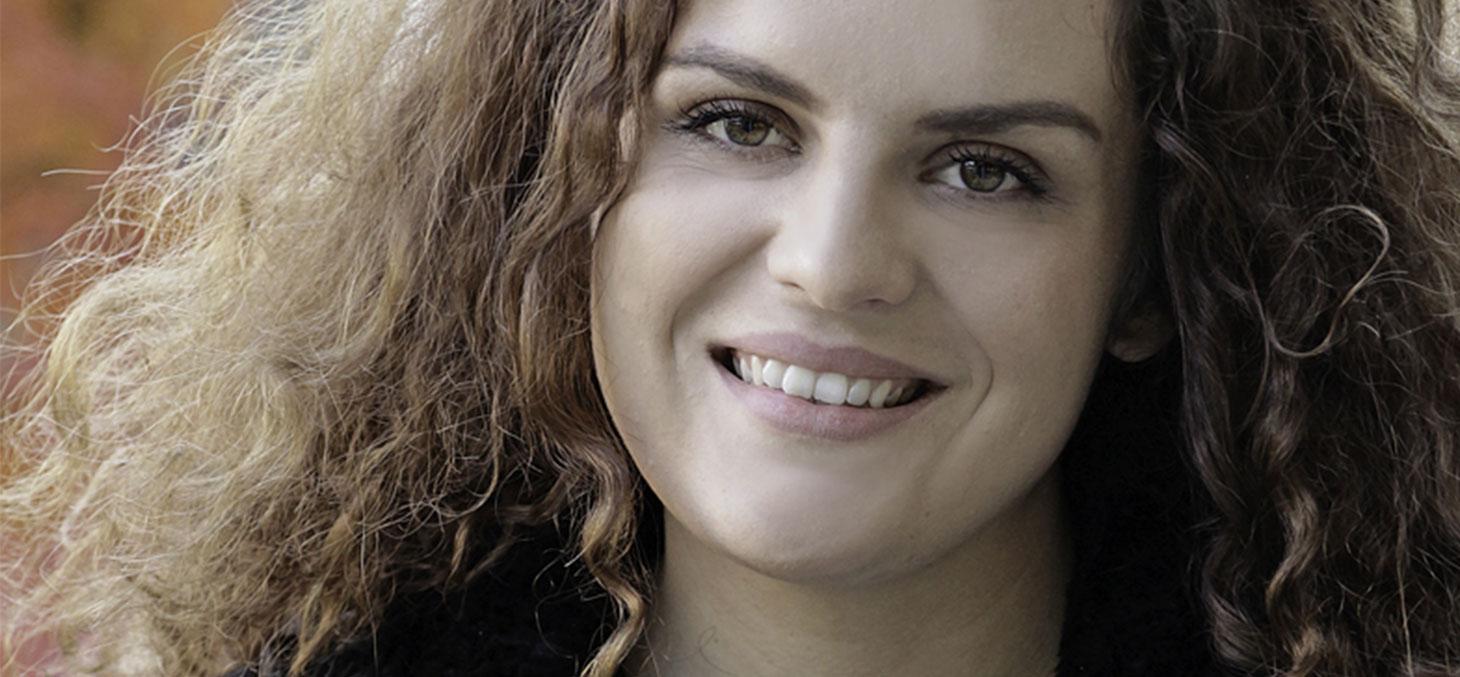 Leona, étudiante originaire du Kossovo