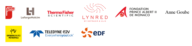 Logos grands donateurs Fondation UGA
