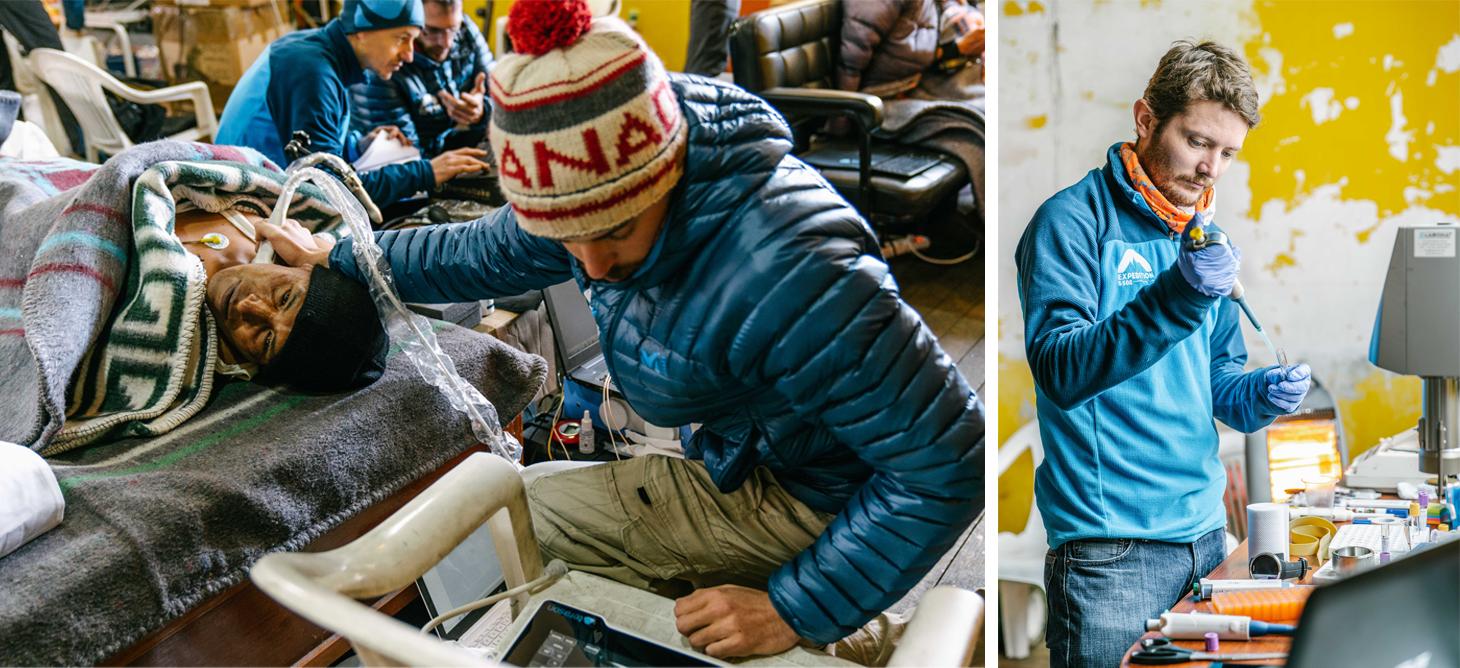 Les équipes grenobloises à l'œuvre à La Rinconada ©Tom BOUYER