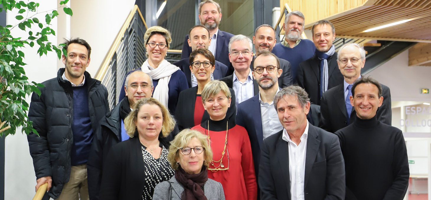 Les membres du nouveau CA de la Fondation UGA