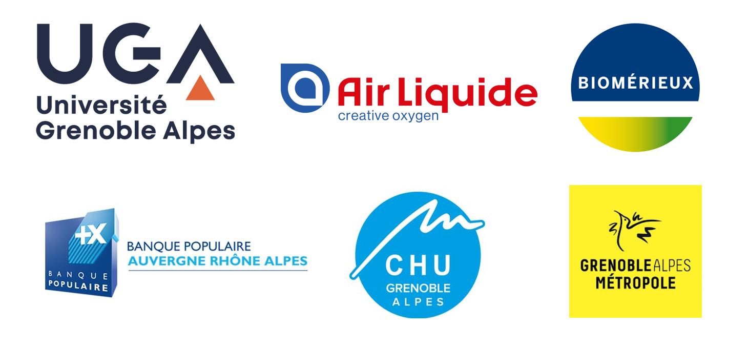 Logos des partenaires fondateurs