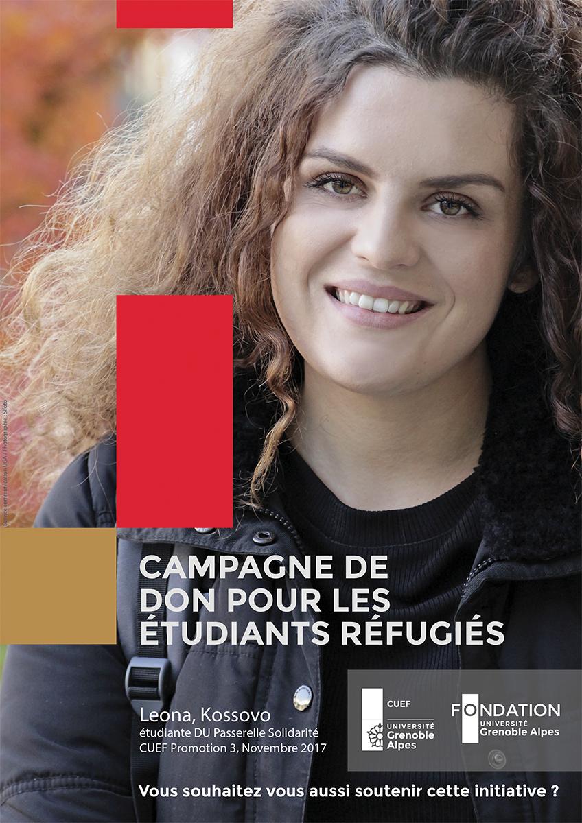 Affiche de la campagne de dons