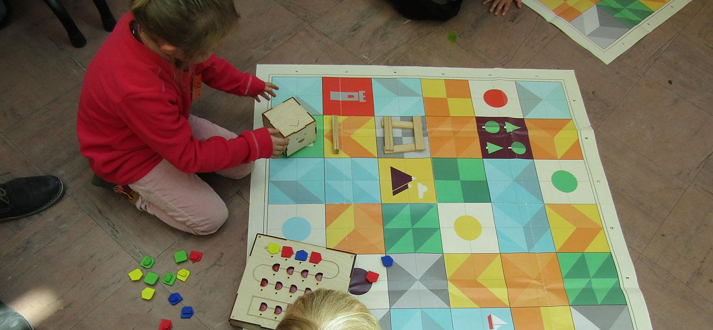 Jeux avec les enfants