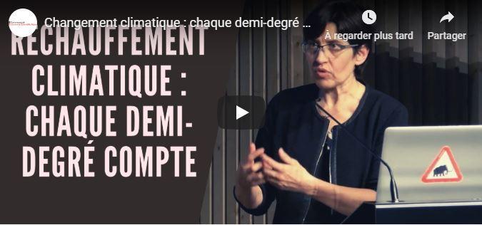 Conférence de Valérie Masson-Delmotte